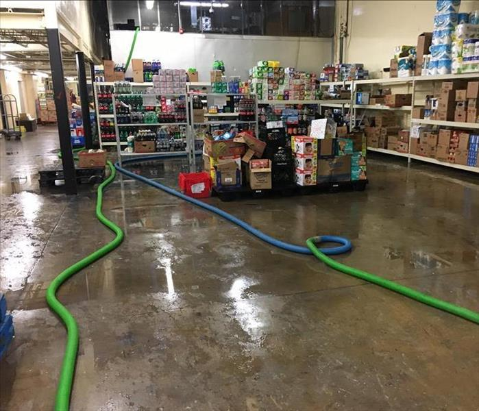 Commercial Restoring A Fernandina Beach Grocery Store After Storm Damage