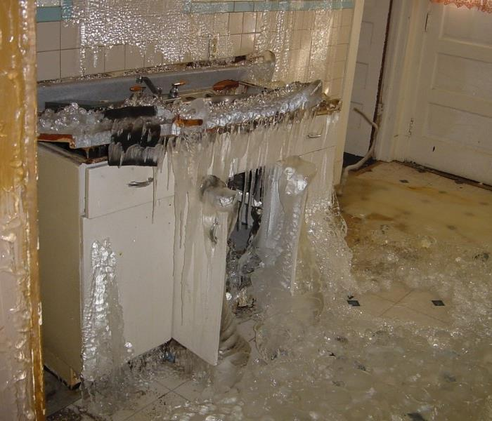 Servpro of fernandina beach yulee water damage news and for Water pipe outside house